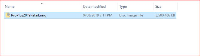 Mount ISO File